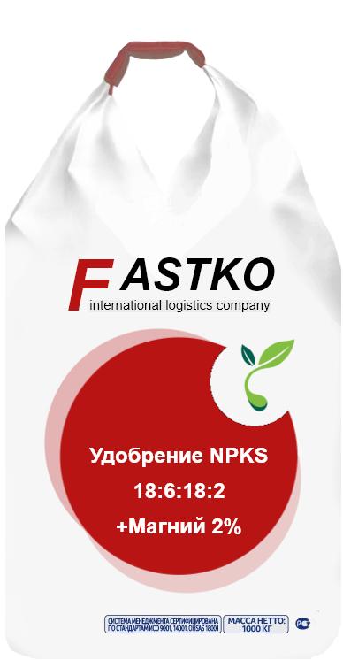 NPK+S 18:6:18+2